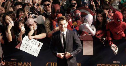 Tom Holland stellt «Spider-Man: Homecoming» 2017 in Seoul vor.