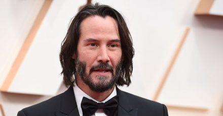Keanu Reeves kennt sich aus im «BRZRKR»-Universum.