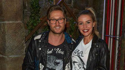 Nico Schwanz und Julia Prokopy gemeinsam auf einem Event im vergangenen Jahr (wue/spot)