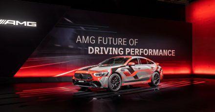 Strom für PS-Protzer:Der Mercedes-Werkstuner AMG wird im Sommer 2021 erstmals Modelle als Plug-In-Hybride anbieten.