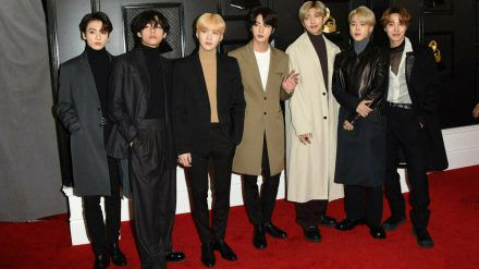BTS bei den Grammy Awards 2020 (rto/spot)