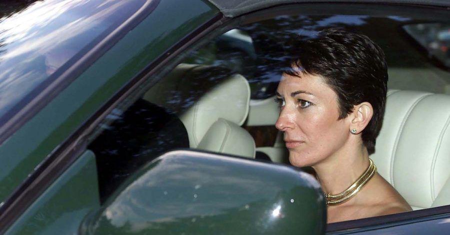 Ghislaine Maxwell, Tochter des Medienzaren Maxwell, gemeinsam mit Prinz Andrew, Herzog von York, beim Verlassen einer  Hochzeit im Februar 2000.