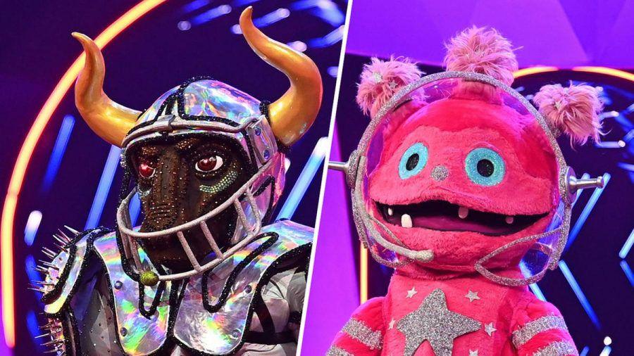 """Für Stier und Monstronaut ist """"The Masked Singer"""" vorbei. (cos/spot)"""