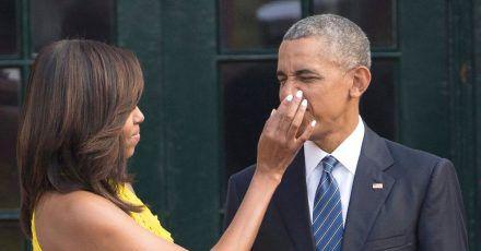 Michelle und Barack Obama sind seit 1992 miteinander verheiratet.