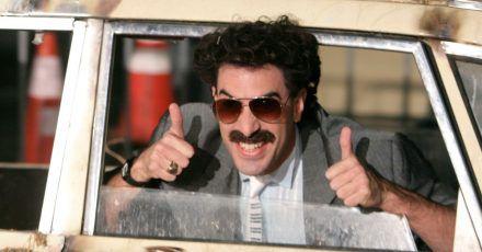 Schauspieler Sacha Baron Cohen räumt in der Rolle des Borat viele Preise ab.