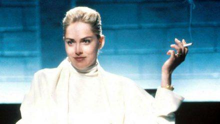 """Sharon Stone in der legendären """"Basic Instinct""""-Szene. (ili/spot)"""