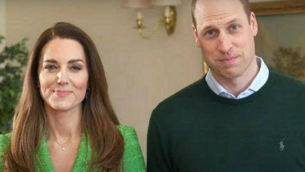 Herzogin Kate und Prinz William grüßen zum St. Patrick's Day. (mia/spot)