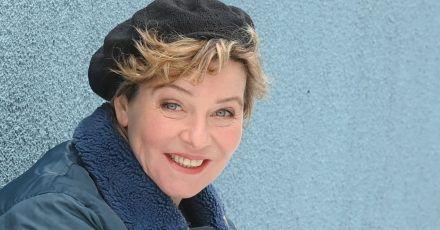 Die Schauspielerin Margarita Broich hofft auf den Frühling in Berlin.