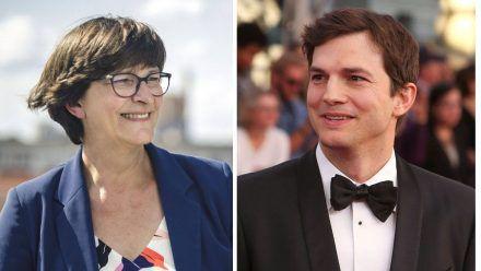 Ashton Kutcher über sein Verhältnis zu SPD-Chefin Saskia Esken