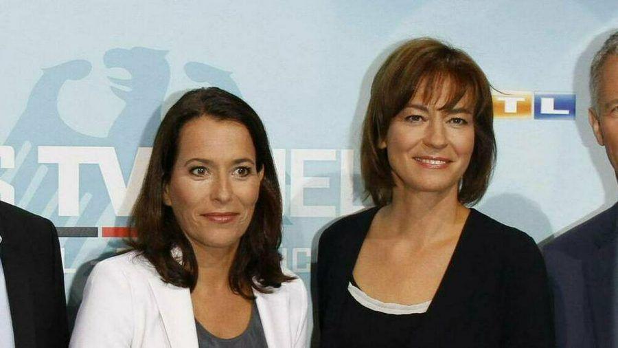 Anne Will (l.) und Maybrit Illner im Jahr 2013. (dr/spot)