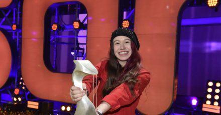 Sarah hat mit ihrem Song «Leise Worte werden laut» gewonnen.