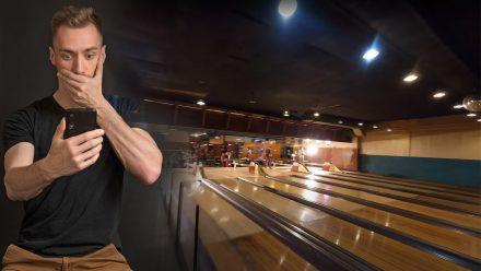 Video-Hit: Diesen Hammerflug im Bowling-Center muss man gesehen haben!