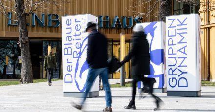 """Im Münchener Lenbachhaus startet die Schau """"Der Blaue Reiter - Gruppendynamik""""."""
