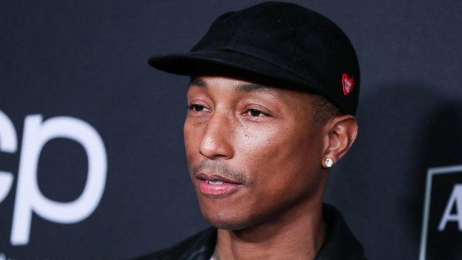 Pharrell Williams bei einem Auftritt in Los Angeles (hub/spot)