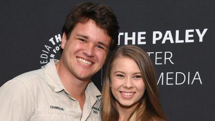 Chandler Powell und Bindi Irwin sind erstmals Eltern geworden. (cos/spot)