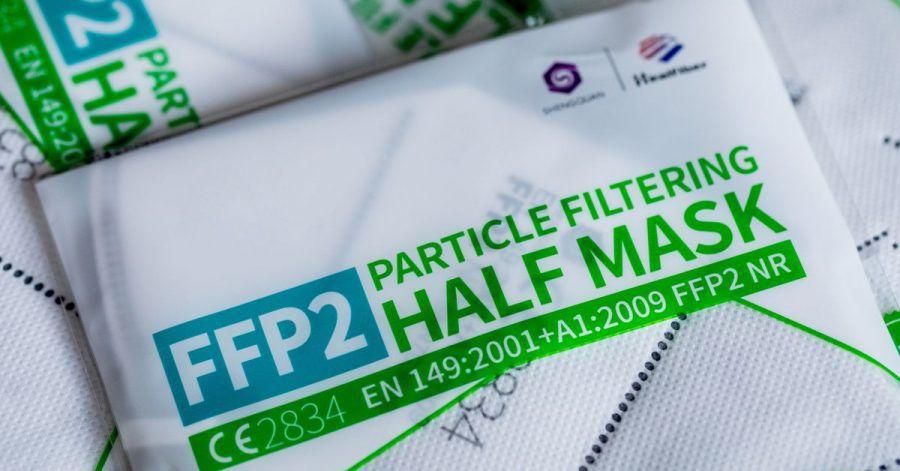 Unter Umständen kann am Arbeitsplatz das Tragen einer FFP2-Maske vorgeschrieben sein.