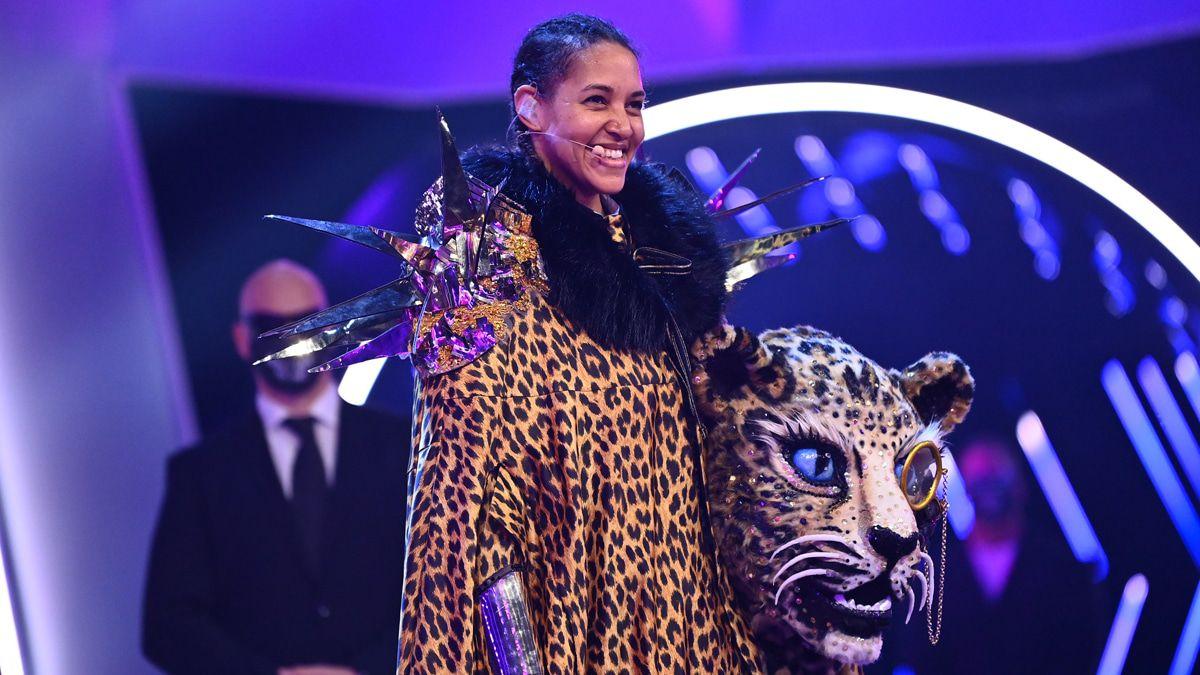 """""""The Masked Singer"""": Cassandra Steen ist der Leopard"""