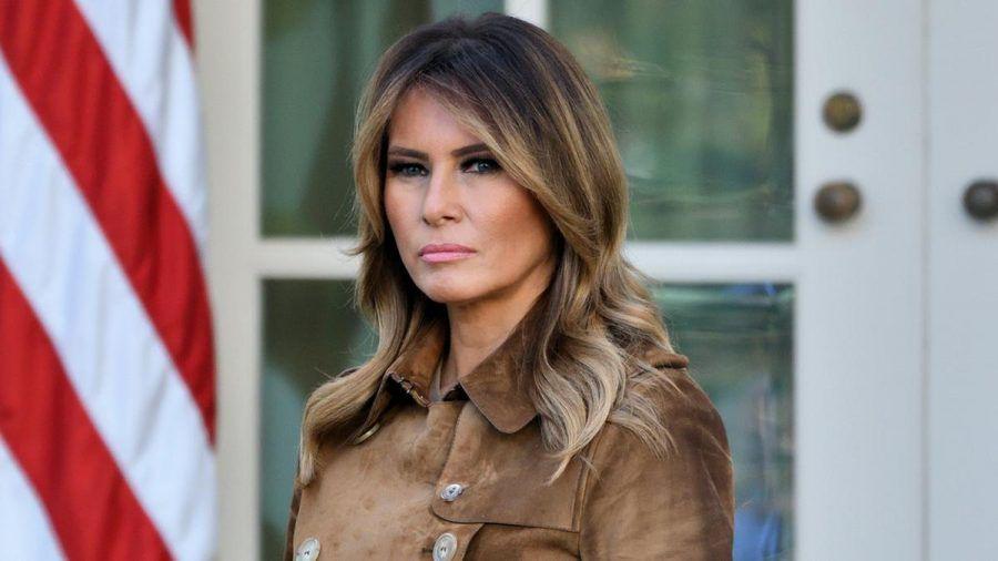 Melania Trump muss erneut Kritik in den sozialen Medien einstecken. (eee/spot)