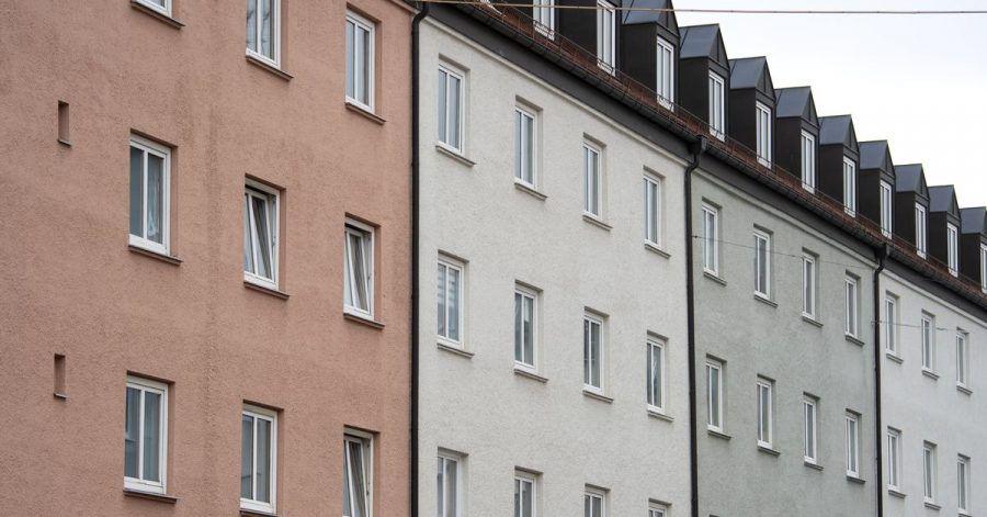 Die Mieten in dieser Wohnanlage im Stadtteil Schwabing sollen drastisch erhöht werden. Der Mieterverein scheiterte nun mit einer Musterfeststellungsklage vor dem BGH.