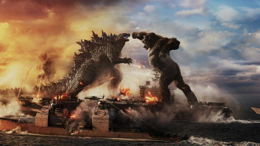 """In """"Godzilla vs. Kong"""" treffen zwei der legendärsten Kinomonster aufeinander (wag/spot)"""