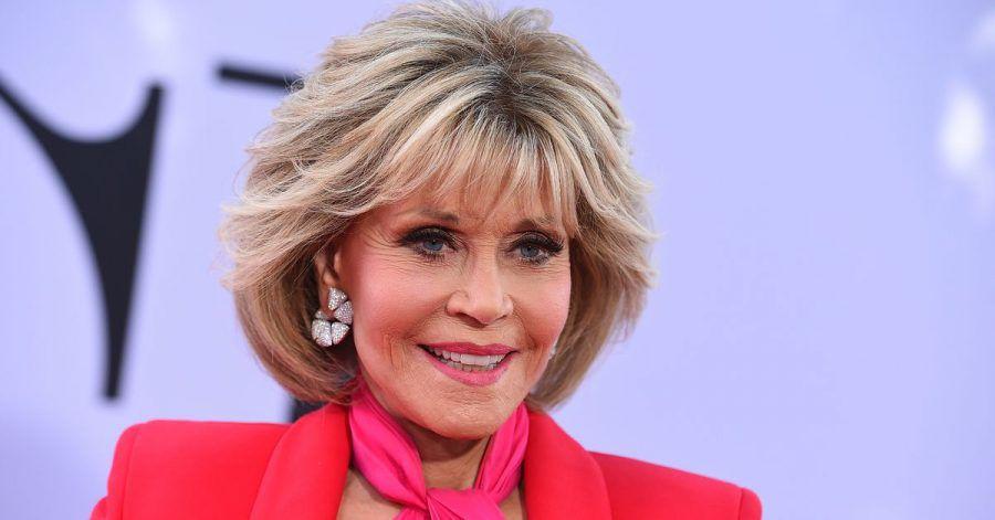 """Schauspielerin Jane Fonda bei der Pdeeremiere des Films """"Book Club"""" 2018."""