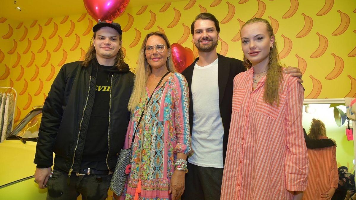 Natascha Ochsenknecht und Familie