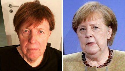 Achtung, Verwechslungsgefahr: Reiner Calmund und Angela Merkel