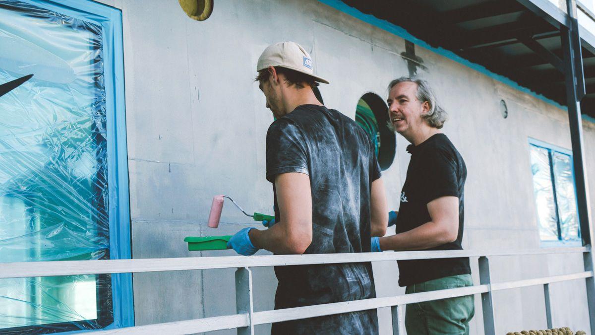 Olli Schulz & Fynn Kliemann bauten Gunter Gabriels Hausboot um