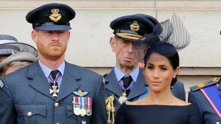 Prinz Harry und Herzogin Meghan warfen dem britischen Königshaus einiges in ihrem Oprah-Interview vor. (mia/spot)