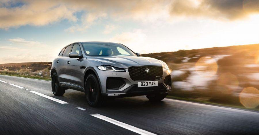 Künftig lässt Jaguar den F-Pace fast nur noch mit elektrischer Unterstützung auf die Straße rollen.
