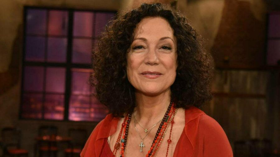 Barbara Wussow 2020 in einer Talkshow. (mia/spot)