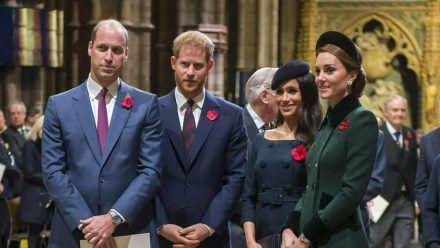 2018 verstanden die Sussexes und die Cambridges sich noch gut miteinander. (ncz/spot)