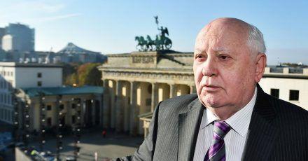 Michail Gorbatschow 2014 in Berlin.