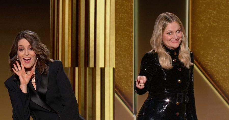 Die Komikerinnen Tina Fey und Amy Poehler moderieren die Zeremonie von getrennten Bühnen aus