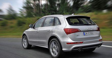 Boom-Segment: Der Audi Q5 gesellte sich 2008 als zweites SUV zum Q7 - weitere Q-Modelle sollten folgen.