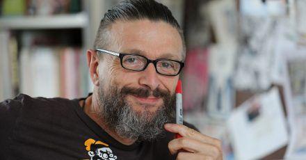 Der Comic-Zeichner und Autor Ralf König hat die Corona-Krise kreativ genutzt.
