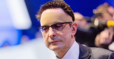 Bernhard Günther, damaliger Finanzvorstand von Innogy, auf der Hauptversammlung von Thyssenkrupp im Jahr 2020.