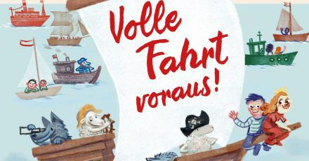 Für das Buch «Volle Fahrt voraus!» haben sich 38 Hamburger Autorinnen und Autoren kleine Geschichten, Gedichte und Lieder rund um Wasser und Strand ausgedacht - passend bebildert von acht Illustratoren aus der Hansestadt.