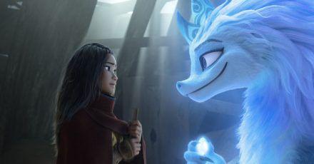 Raya sucht Hilfe bei der magisch-mythischen Drachendame Sisu.