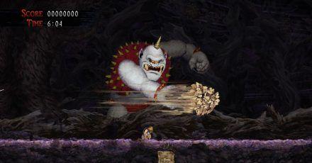 Achtung, ein Oger greift an in «Ghost n' Goblins Resurrection».