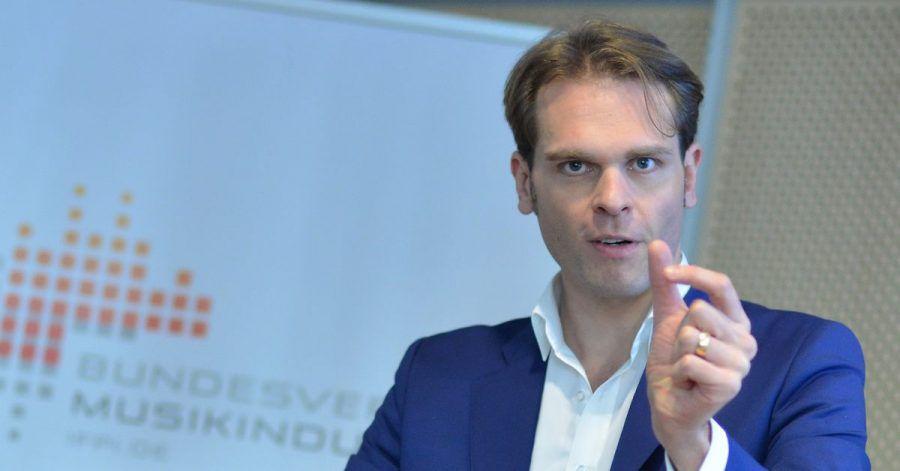 Streaming-Boom: Florian Drücke, Geschäftsführer des Bundesverbandes Musikindustrie (BVMI), nennt Zahlen.