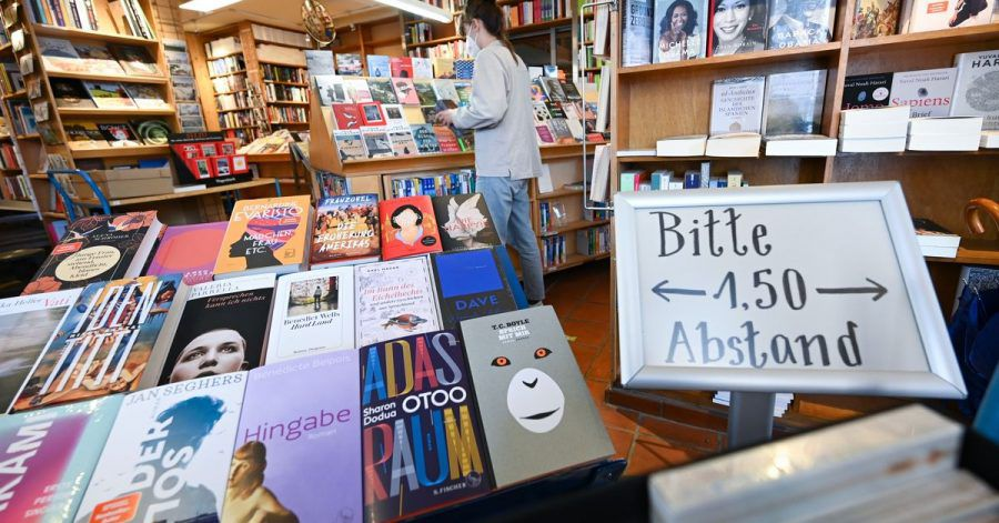 Nach der Corona-Runde: eine bundesweite Öffnungsperspektive für Buchhandlungen.
