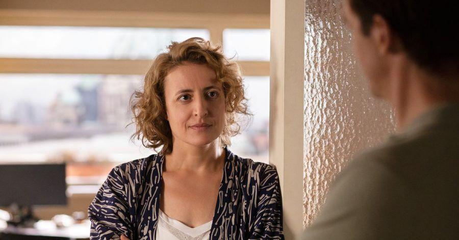 Für ihre Hauptrolle in «Ich bin dein Mensch» (Szenenfoto) wurde Maren Eggert mit einem Silbernen Bären ausgezeichnet.