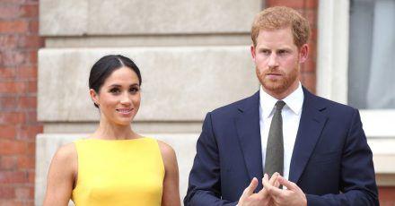 Prinz Harry von Großbritannien und seine Frau Meghan in den Schlagzeilen.