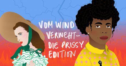 «Vom Wind verweht - Die Prissy Edition»: ein schwarzes Kindermädchen steht im Vordergrund.