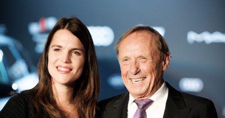 Schauspieler Claus Theo Gärtner und seine Frau Sarah sind sich näher denn je.