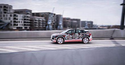 Viel Platz an Bord soll der neue Audi Q4 E-Tron dank seines langen Radstands (2,76 Meter) bieten.