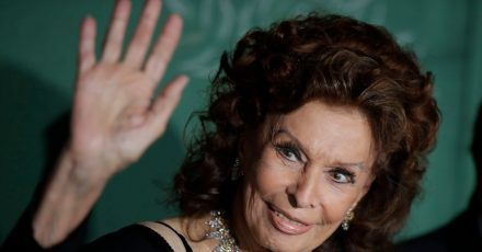 Sophia Loren 2019 in Mailand bei der  Verleihung der «Green Carpet Fashion Awards».