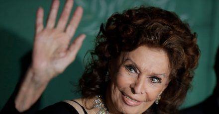 Sophia Loren 2019 in Mailand bei der  Verleihung der «Green Carpet Fashion Awards».