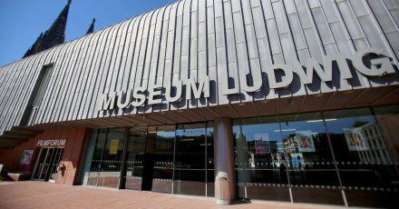 Das Museum Ludwig in Köln konnte sich vor Ticket-Anfragen kaum retten.